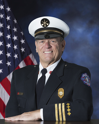 Fox Lake Battalion Chief Brent Connelly