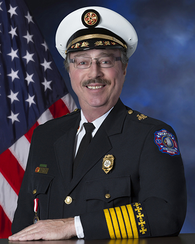 Fox Lake Fire Chief Ronald Hoehne