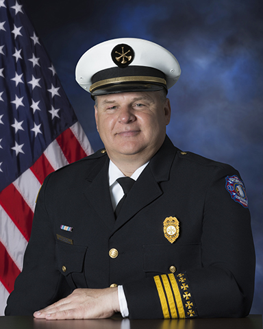 Fox Lake FPD Battalion Chief Tom Preidis